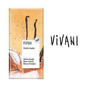 Chocolate Blanco con Vainilla (Eco), Vivani