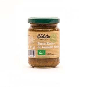 Pesto Rosso de tomates secos, Carlota organic