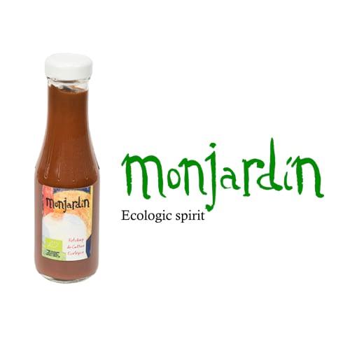 Ketchup de agricultura ecológica, Monjardín Organic