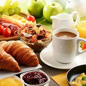 Desayunos, Té e Infusiones