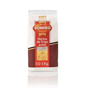 Harina de Trigo Extra, Pastas Alimenticias Romero