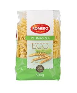 Plumas Nº4 (Eco), Pastas Alimenticias Romero