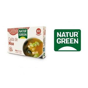 Cubos de caldo de miso, Natur Green