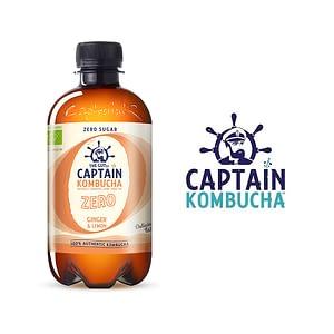 Captain Kombucha Jengibre Limón
