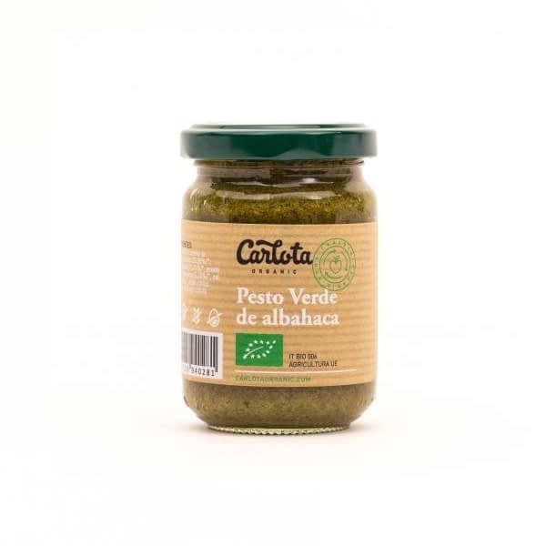 Pesto Verde de albahaca, Carlota Organic