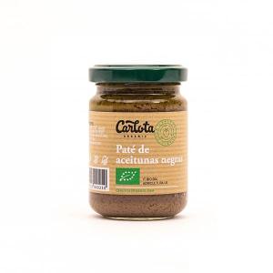Paté de aceitunas negras, Carlota Organic