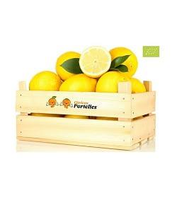 Caja de limón Ecológico, Cítricos Portelles