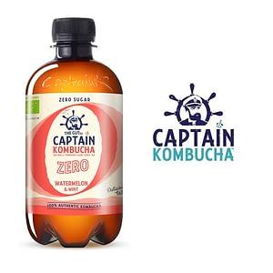 Captain Kombucha Sandía Menta