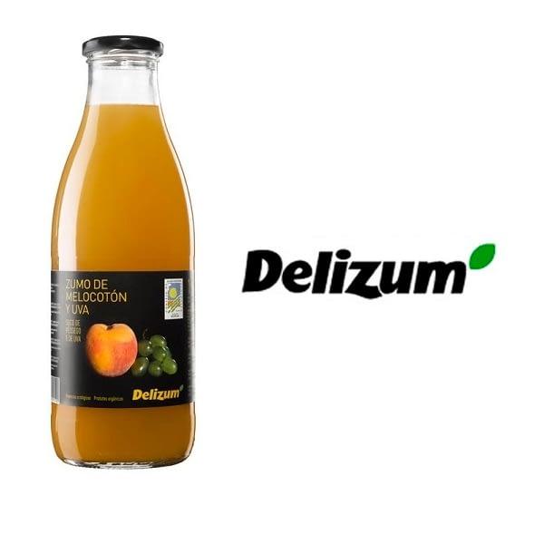 Zumo de melocotón y uva (Eco), Delizium