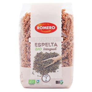 Espirales Espelta (Eco), pastas Alimenticias Romero