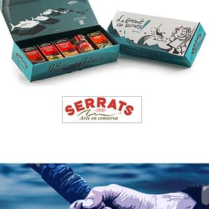 Pack Conservas Vizcaya Serrats