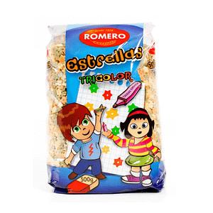 Estrellas Tricolor (Pasta Infantil), Pastas Alimenticias Romero