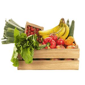 Cesta de Frutas y Verduras (Seleccionable), Frutas y Verduras