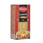 Placas de Lasaña, Pastas Alimenticias Romero