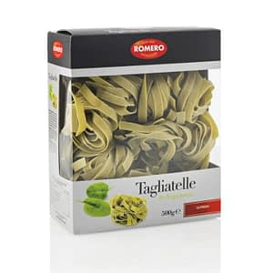 Tagliatelle de Espinacas (Pasta Premium), pastas Alimenticias Romero
