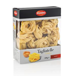 Tagliatelle al huevo (Pasta Premium), Pastas Alimenticias Romero