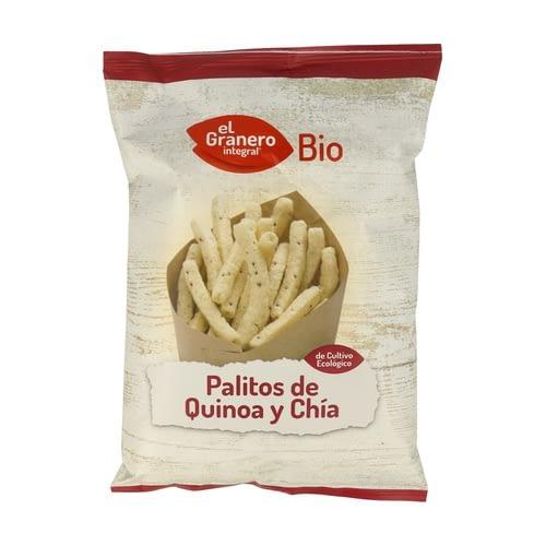 Palitos de Quinoa y Chía, El Granero Integral
