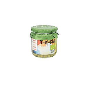 Guisantes al natural, Monjardín Organic
