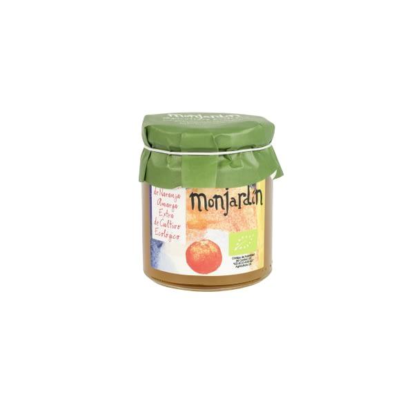 Mermelada de naranja amarga, Monjardín Organic
