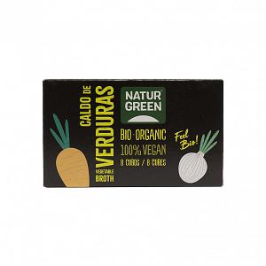Cubos de caldo de verduras, Natur Green