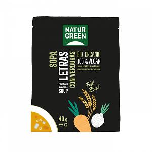 Sopa de Letras con verdura, Natur Green