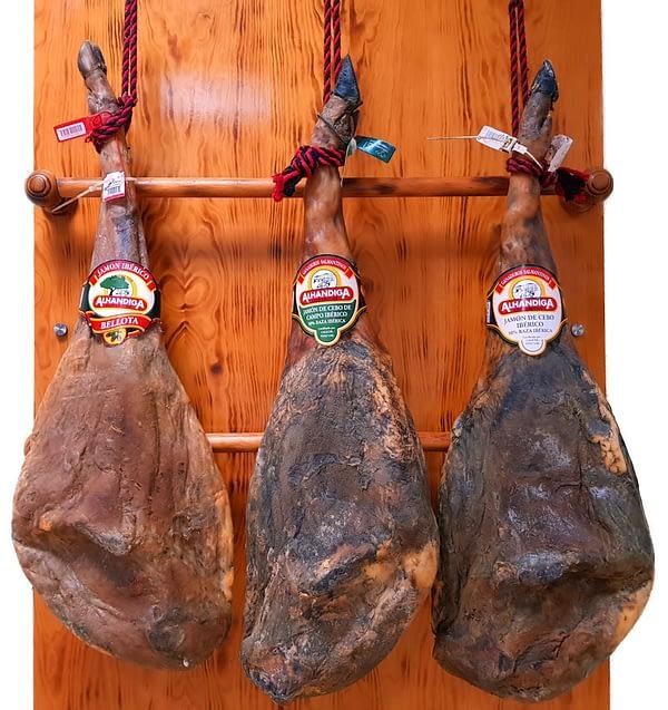 Jamón de cebo ibérico (Ibéricos Alhándiga)