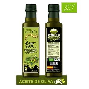 Aceite de Oliva Virgen Ecológico El trujal de Gillermo 250 ml (Eco)
